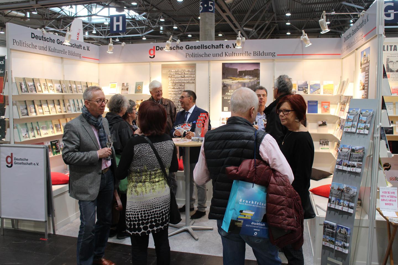 Das Bildungswerk Sachsen der Deutschen Gesellschaft e. V. auf der Leipziger Buchmesse
