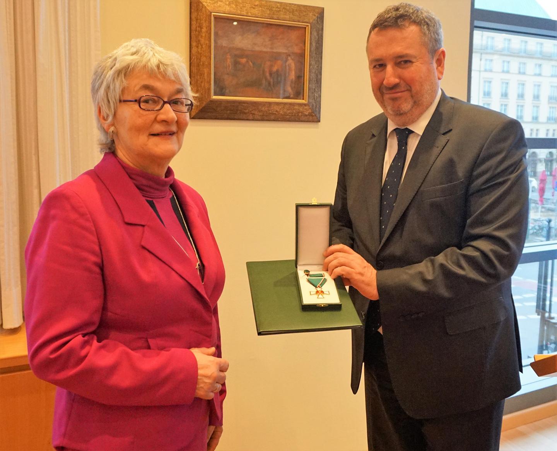 Hohe Ehrung des ungarischen Staates für Katharina Landgraf